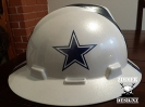 Dallas Cowboys White hard hat