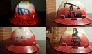 boots & Coots themed hard hat